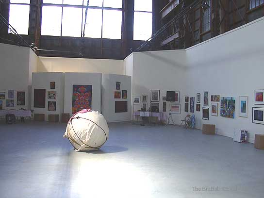 BraBall arrives at SOMARTS